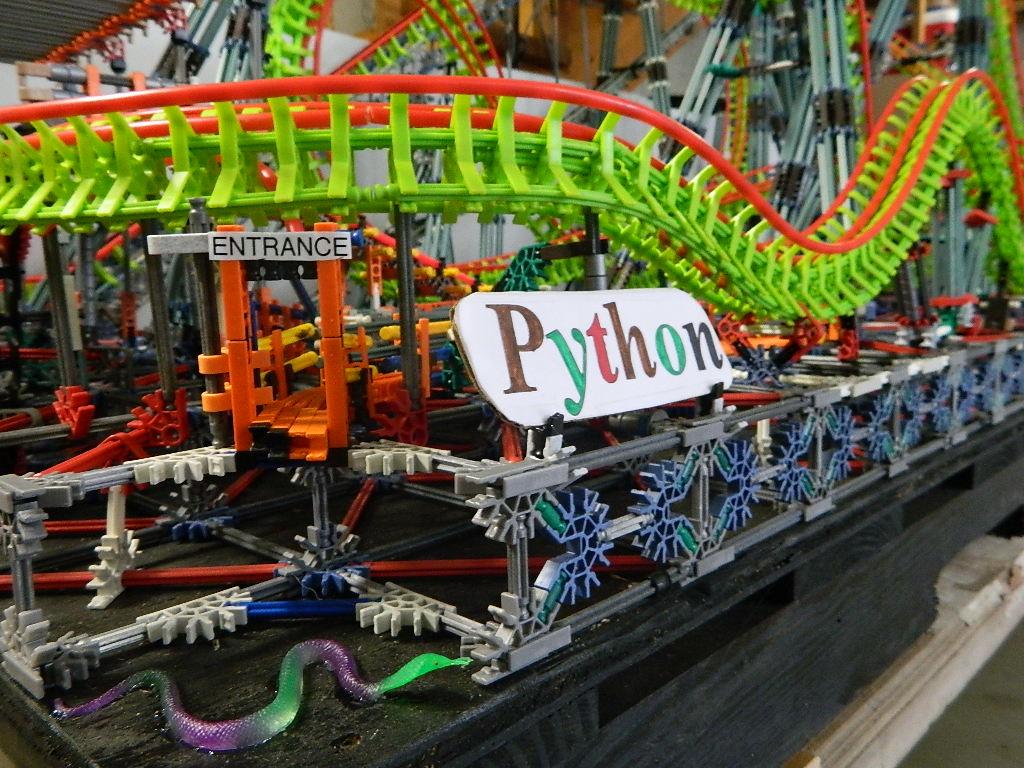 Python - Roller Coasters - Models - SSCoasters Model