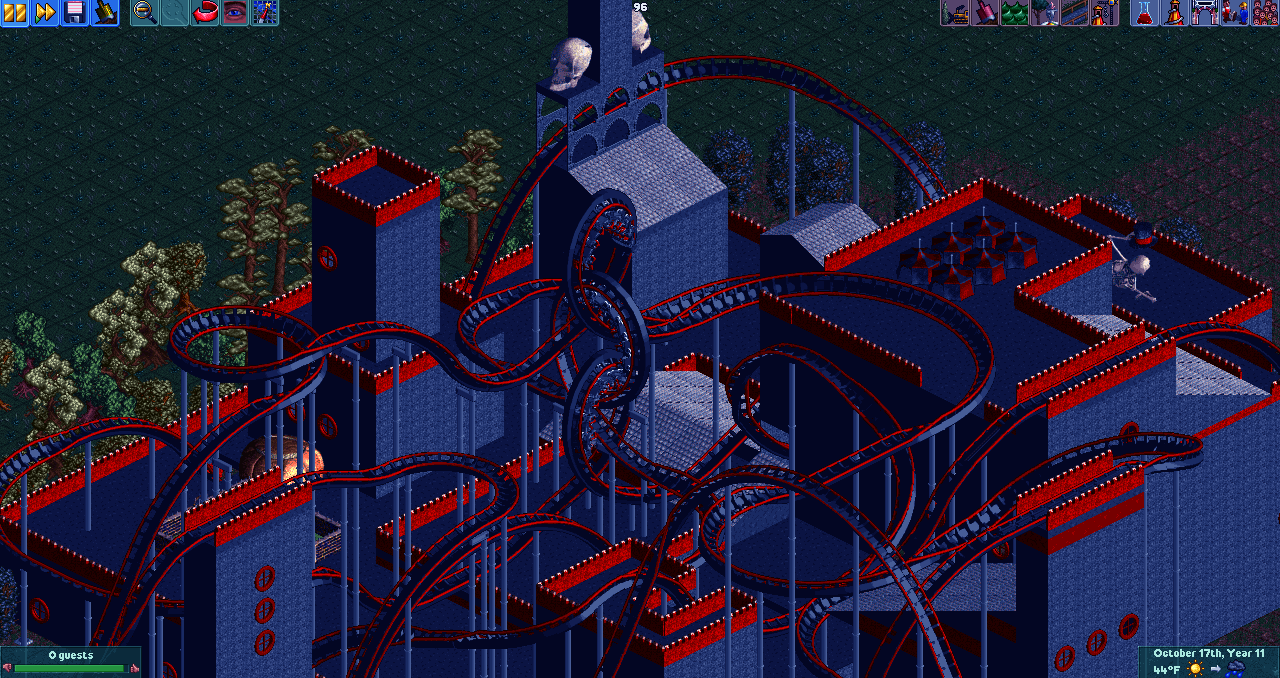 Working on a new Open RCT2 Park - Quick Pics - SSCoasters Quick Pics