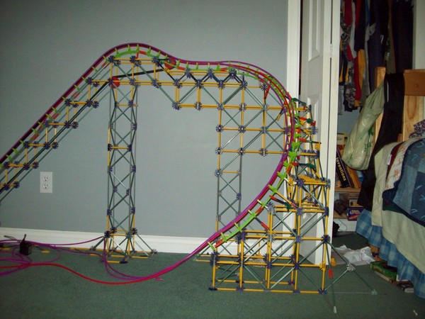 new roller coaster at six flags new england 2011. (Six Flags New England)