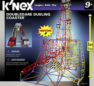 K'nex firestorm freefall roller coaster building set 51539.